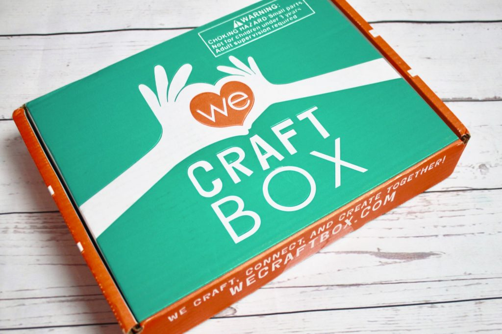 We Craft Box July 2018 Subscription Review + Exclusive Coupon