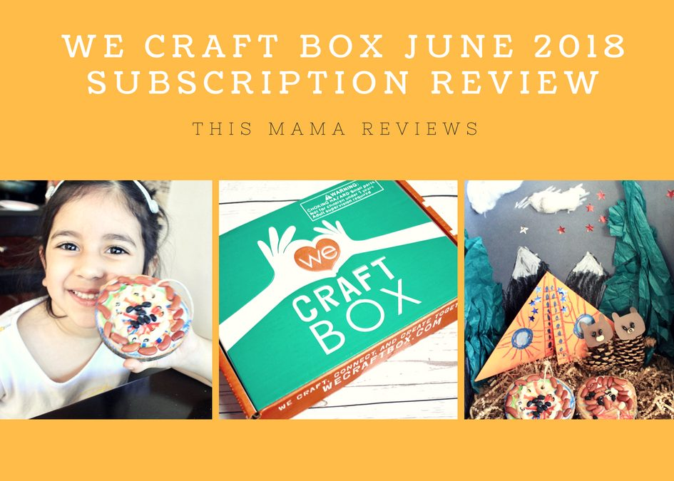 We Craft Box June 2018 Subscription Review + Exclusive Coupon!