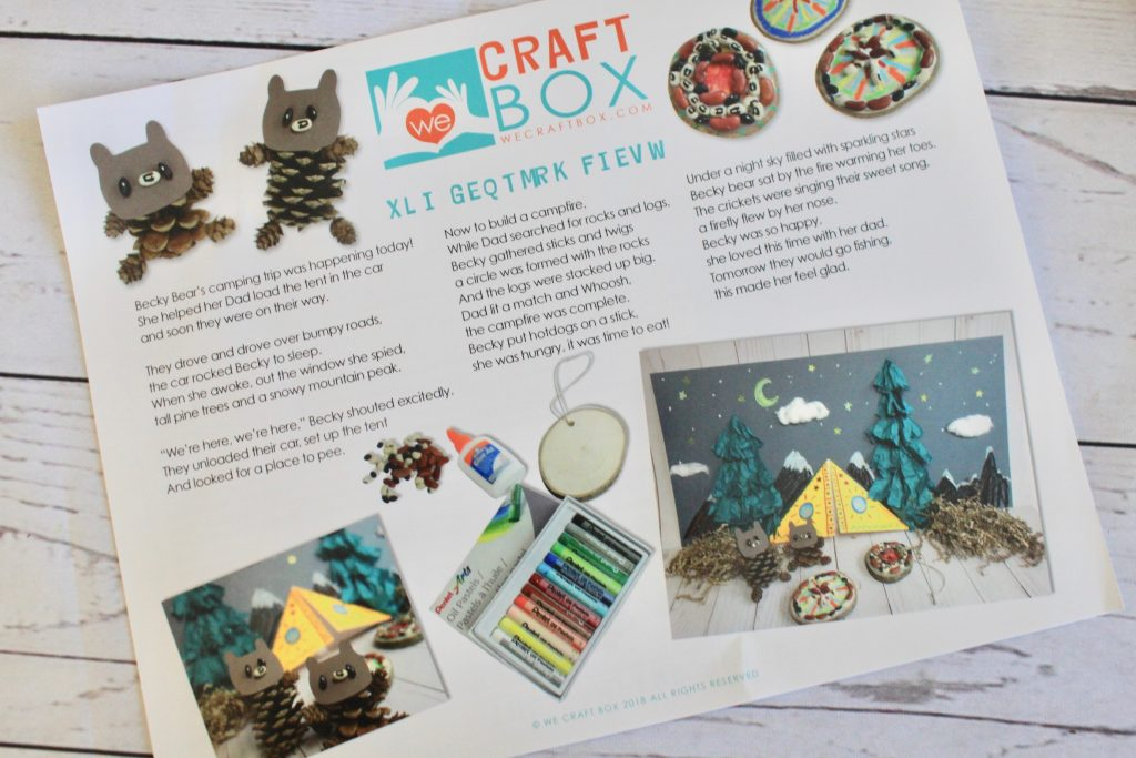 We Craft Box June 2018 Subscription Review + Exclusive Coupon