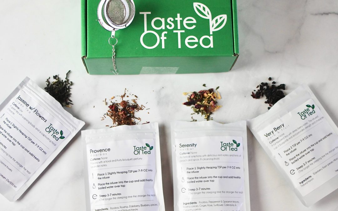Taste Of Tea June 2018 Subscription Box Review + Promo Code!