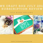 We Craft Box July 2018 Subscription Review + Exclusive Coupon!