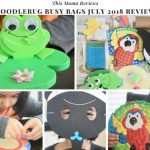 DoodleBug Busy Bags July 2018 Subscription Review