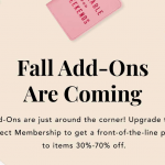 FabFitFun Fall 2018 Add-Ons Schedule + $10 Coupon Code