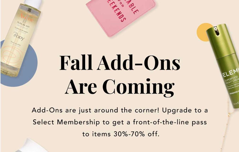 fabfitfun fall edit sale 2018