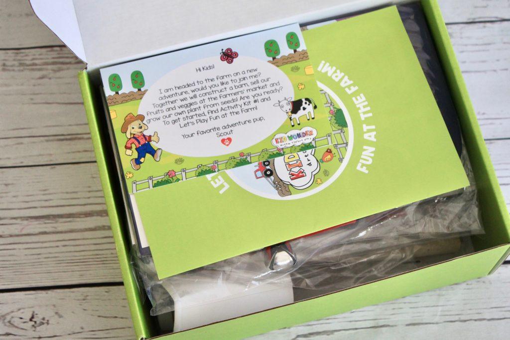 Kid Wonder Box July 2018 Farm Fun Subscription Review + 40% Off Coupon Code