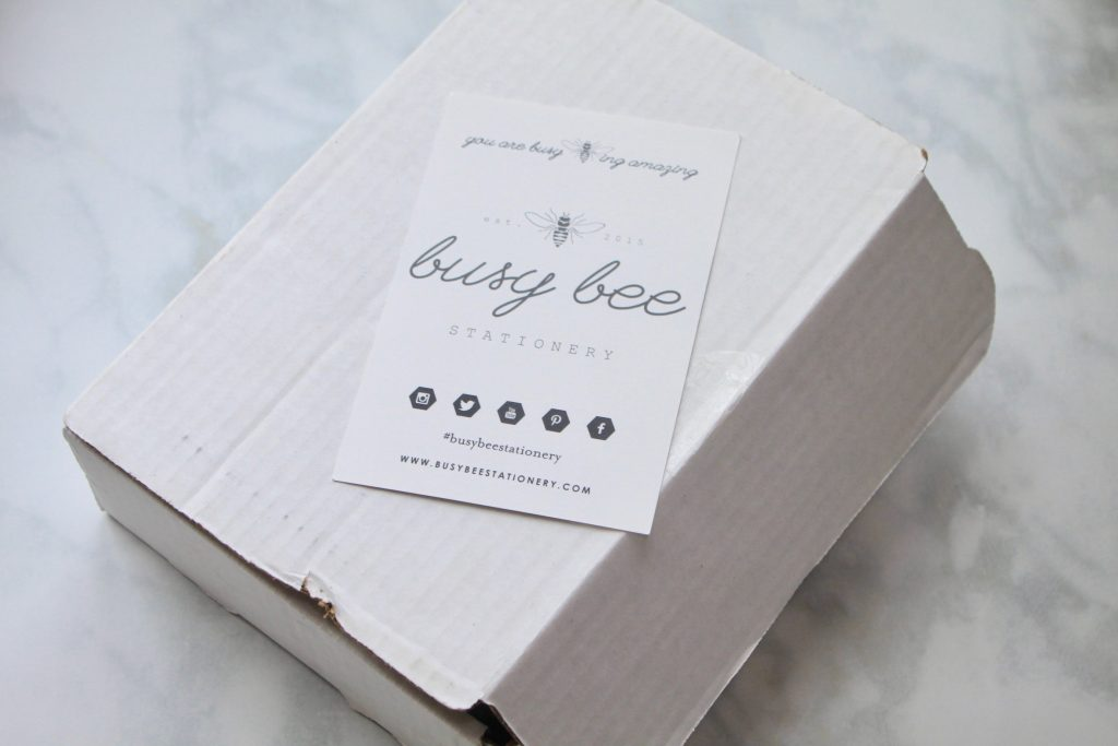 Busy Bee Stationery July 2018 Subscription Box Review