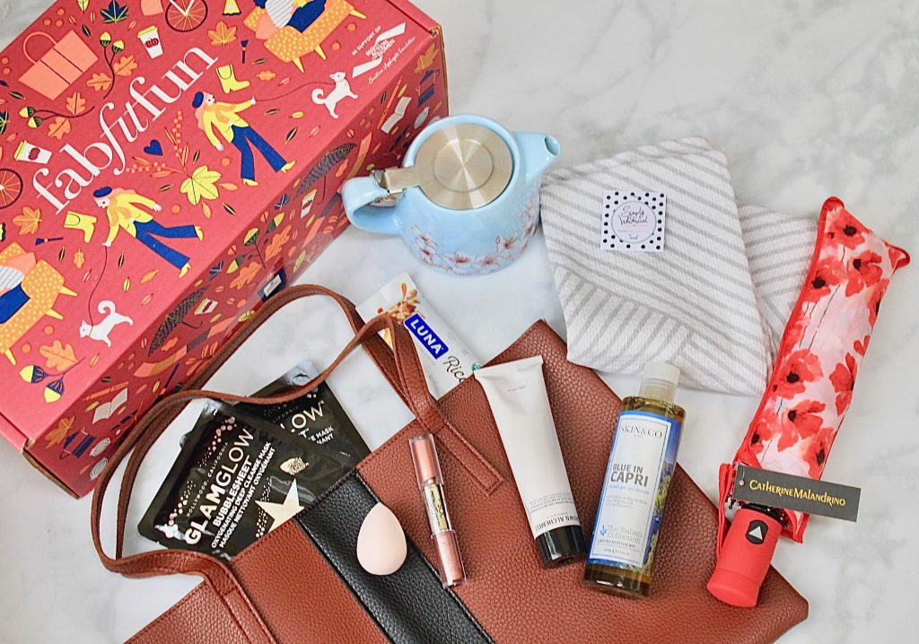 FabFitFun Fall 2018 Subscription Box Detailed Review + $10 Coupon Code