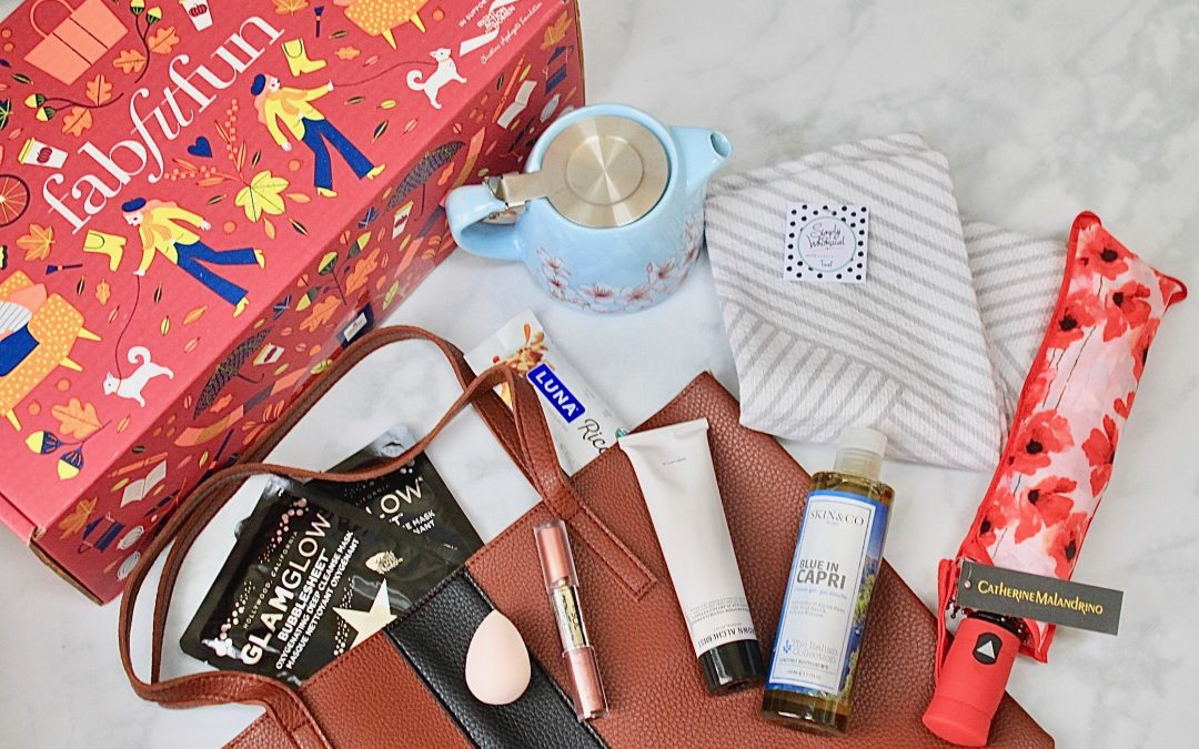 FabFitFun Fall 2018 Box FULL Review + $10 Off Coupon Code!