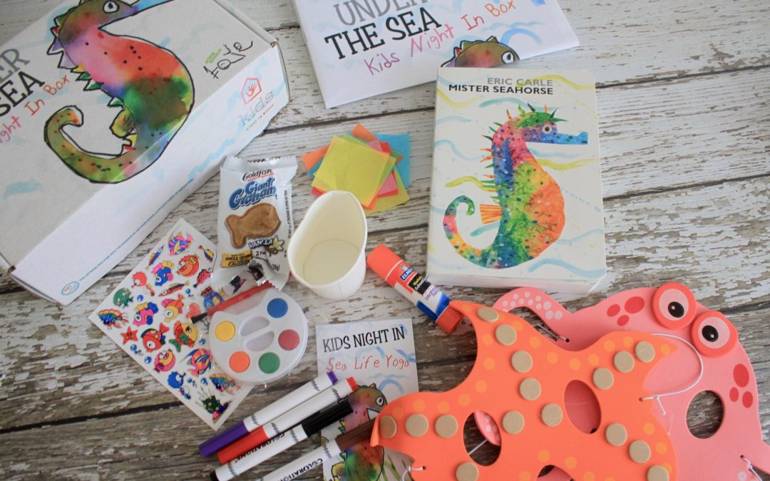 Kids Night In Box August 2018 Subscription Box Review + Free Box Coupon Code
