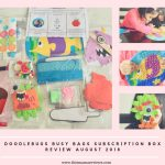 Doodlebug Busy Bags August 2018 Subscription Box Review