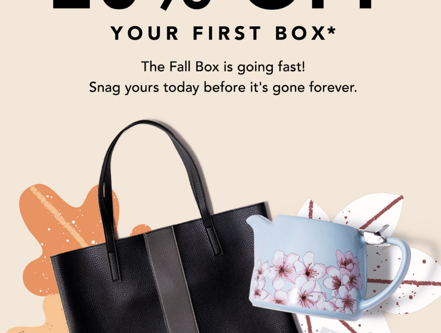 FabFitFun Fall 2018 Box Is Almost Sold Out! Hurry & Grab the 20% Off Coupon!