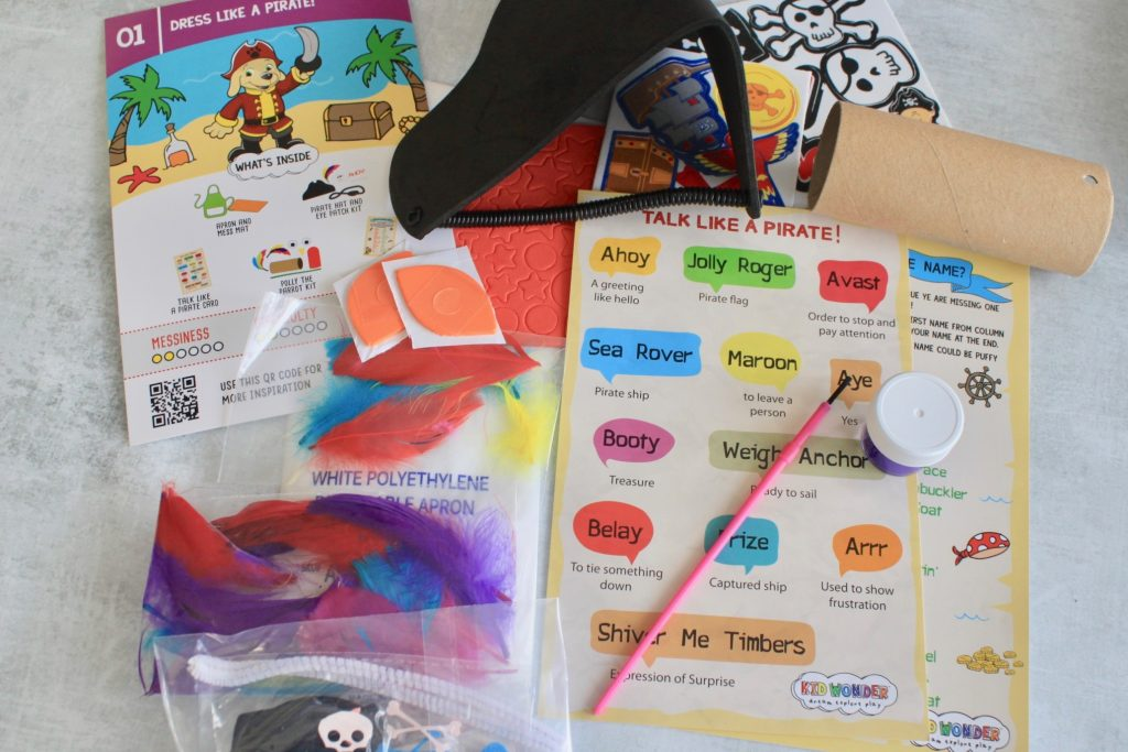 Kid Wonder Box August 2018 Review + Coupon
