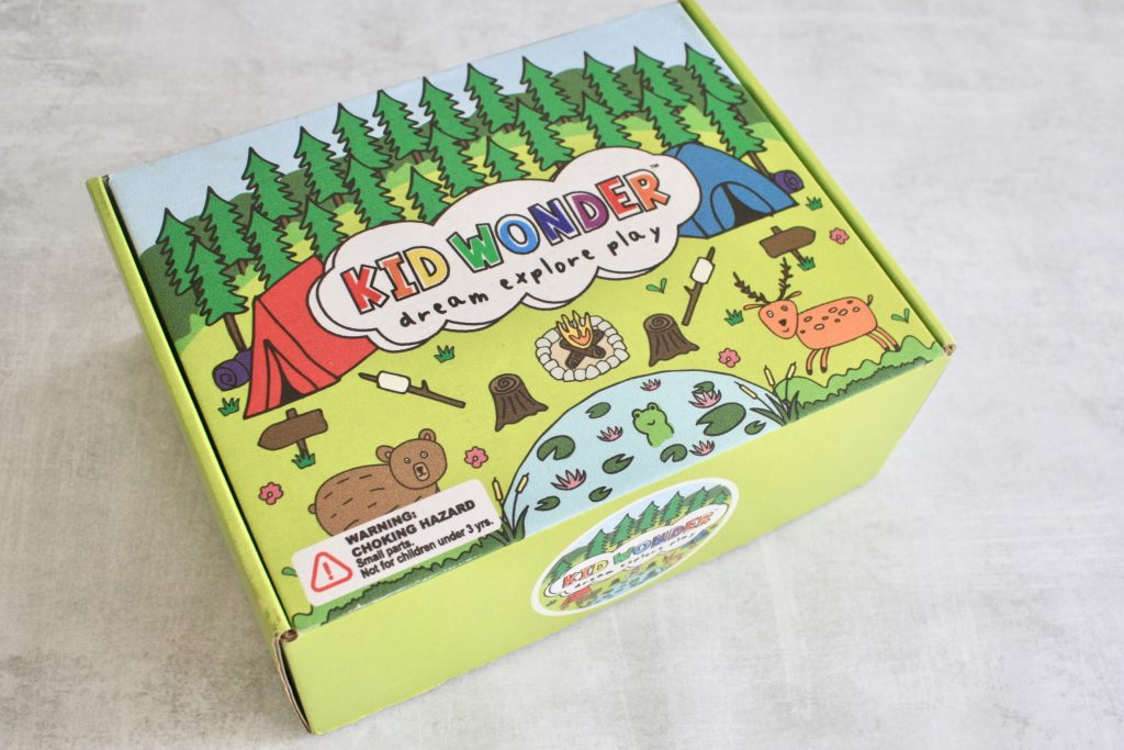 Kid Wonder Subscription Box September 2018 Review + 30% Coupon