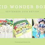 Kid Wonder Box September 2018 Subscription Review + Coupon Code