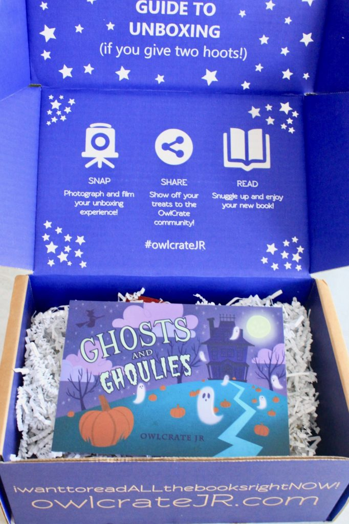 OwlCrate Jr. Book Subscription September 2018 Review + Coupon Code