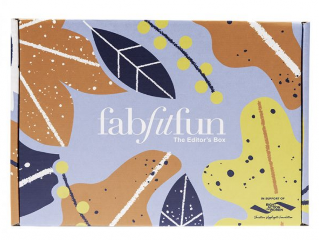 FabFitFun Fall 2018 Editor's Box FULL Spoilers + $10 Off Coupon