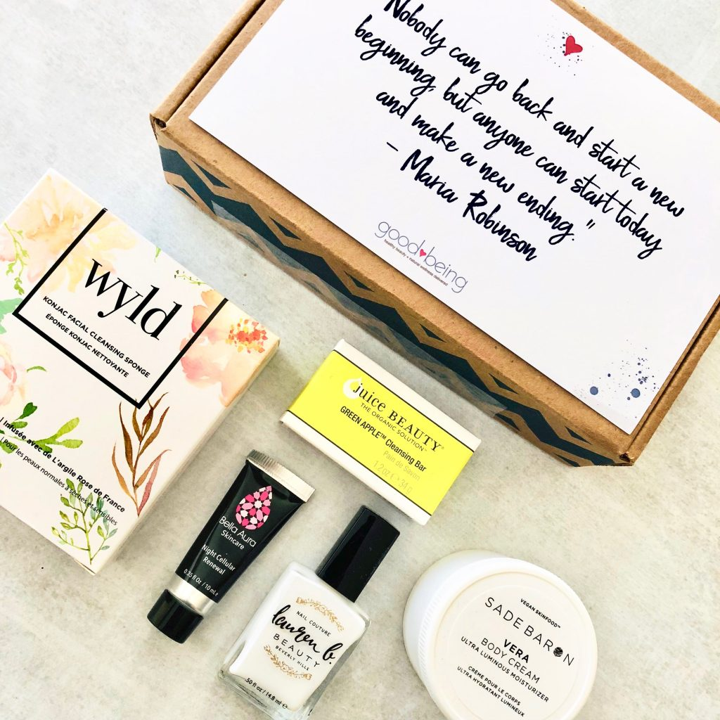 Goodbeing October 2018 Subscription Box Review + 20% Off Coupon