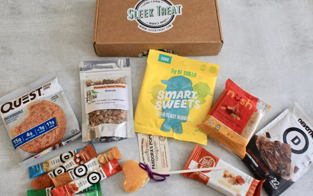 Sleek Treat October 2018 Subscription Box Review