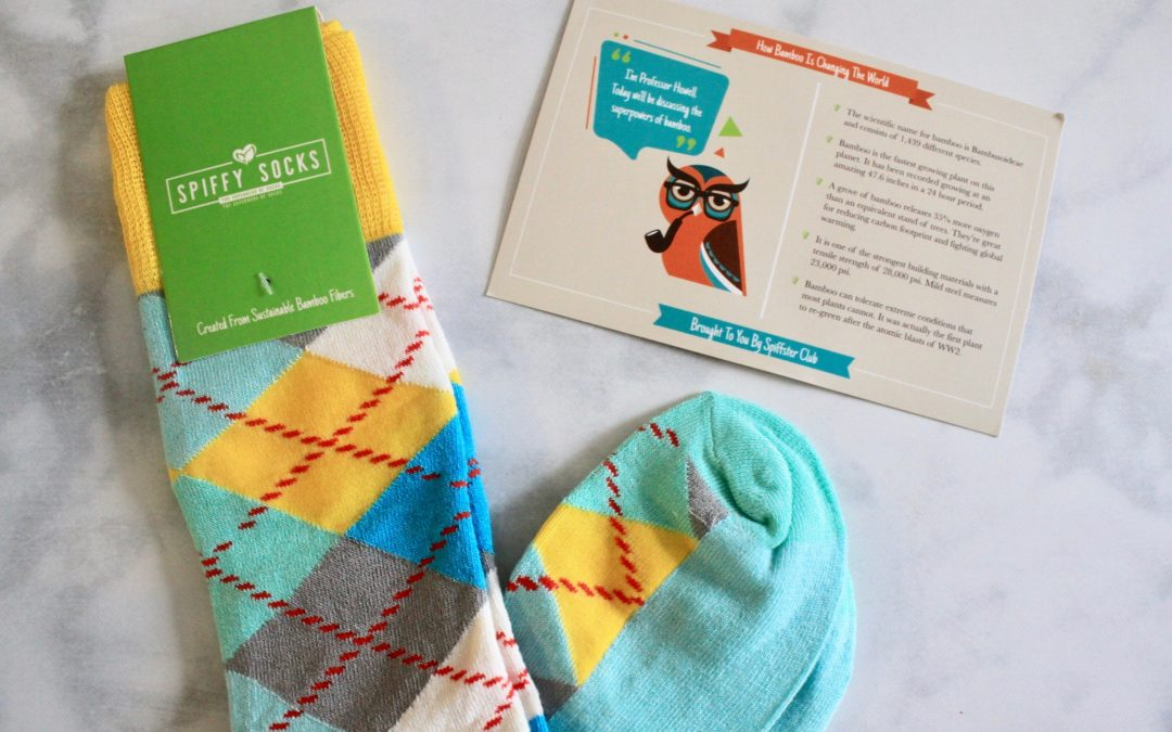 Spiffy Socks October 2018 Subscription Box Review + Coupon