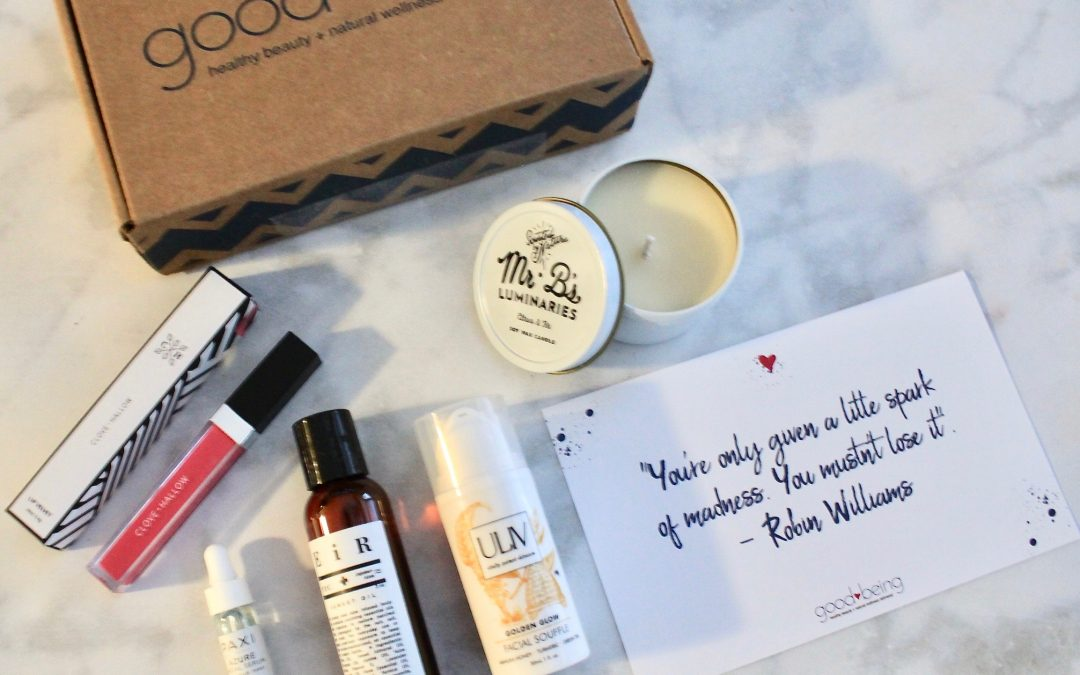 Goodbeing November 2018 Subscription Box Review + $15 Off Coupon