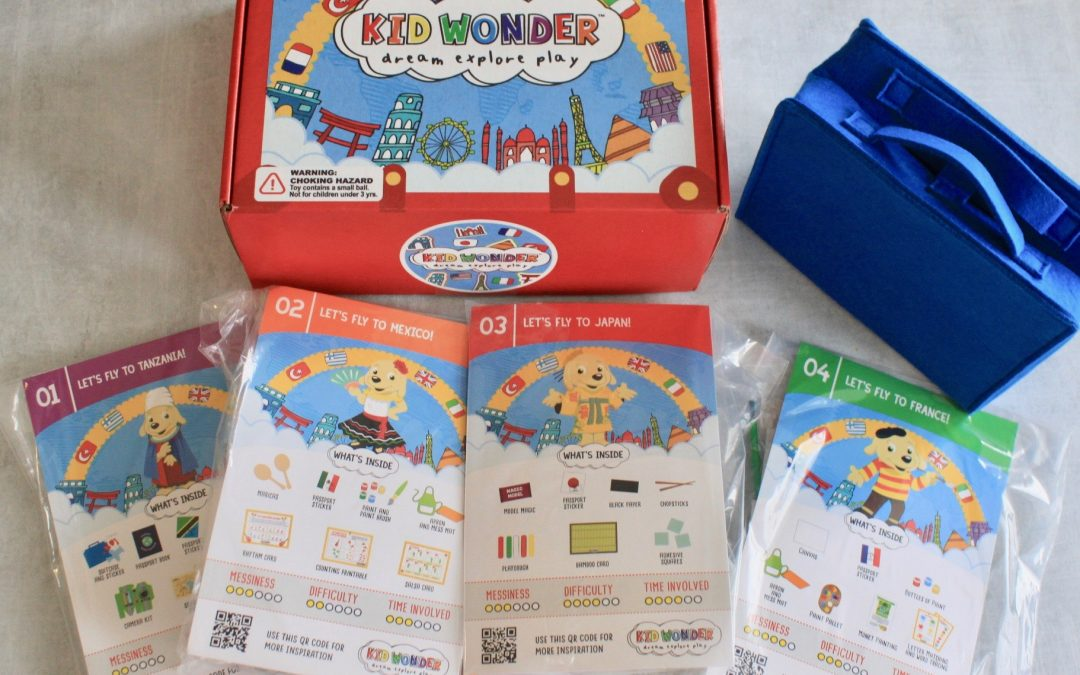 Kid Wonder Box November 2018 Subscription Review + 30% Off Coupon