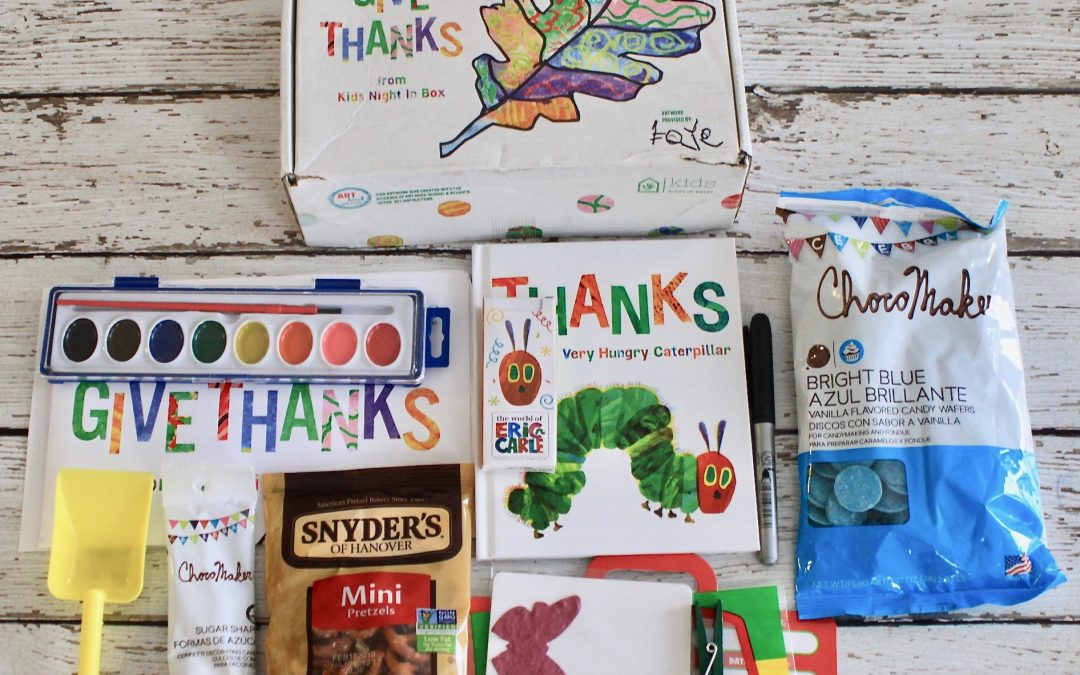 Kids Night In Box November 2018 Subscription Review + FREE Box Coupon