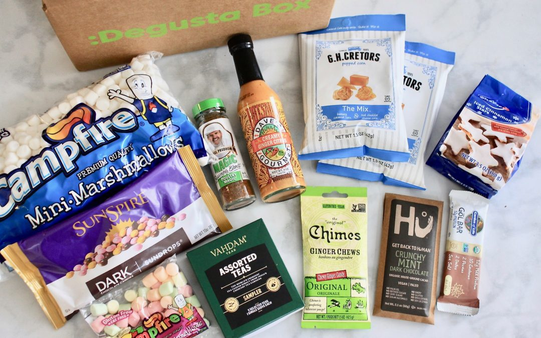 Degusta Box December 2018 Subscription Review + First Box Only $12.99