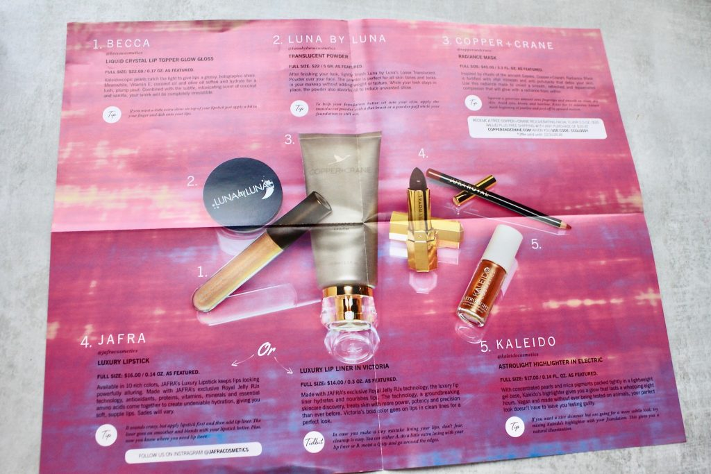 Glossybox December 2018 Subscription Box Review