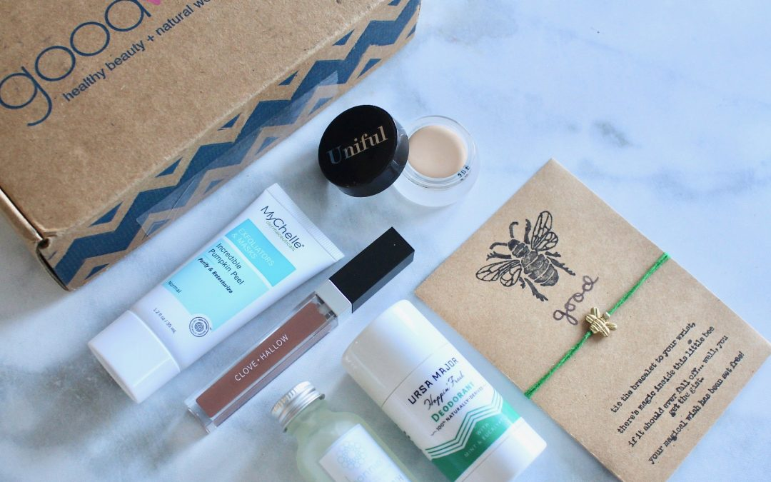 Goodbeing December 2018 Subscription Box Review + Coupon