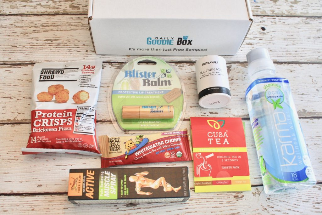 Daily Goodie Box January 2019 FREE Monthly Box Review