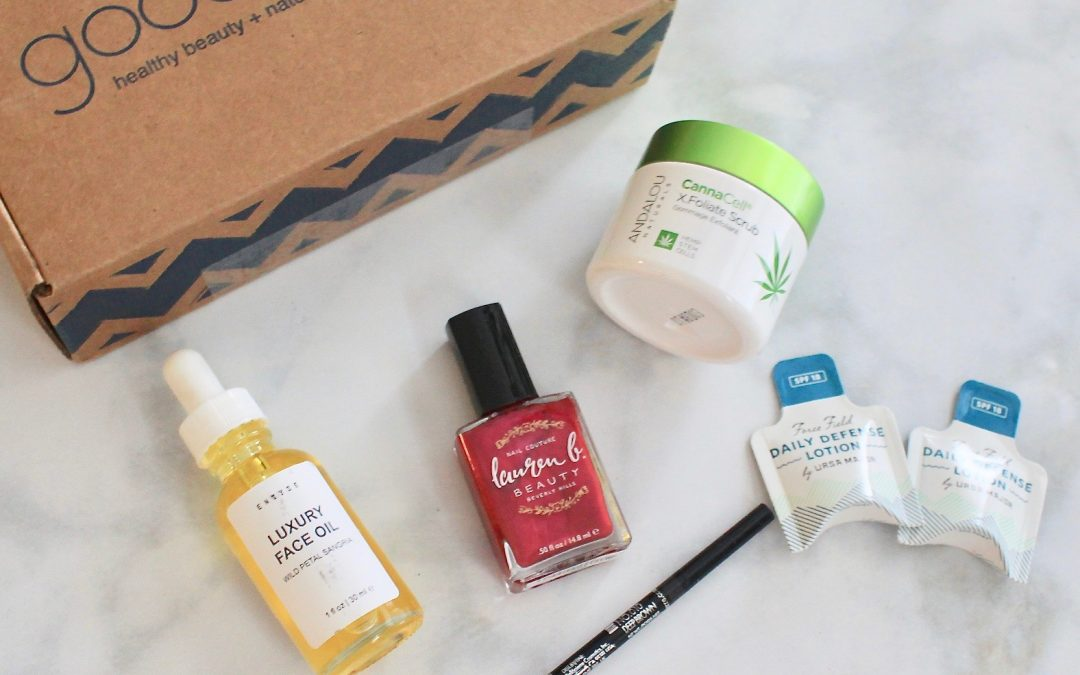 Goodbeing January 2019 Subscription Box Review