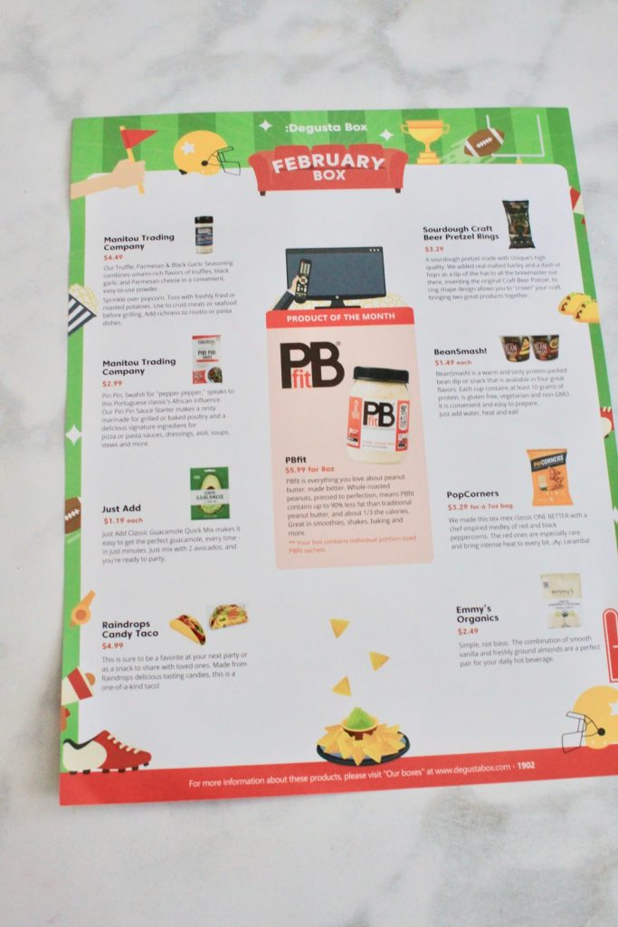 Degusta Box February 2019 Subscription Review + First Box Only $12.99 Coupon
