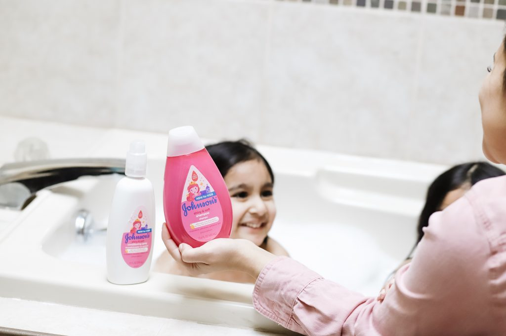 Johnson's® Kids' Shiny & Soft Shampoo & Conditioner