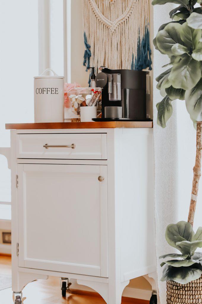 cozy coffee bar