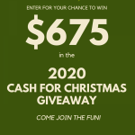 2020 Cash For Christmas Giveaway! Enter Now! :)