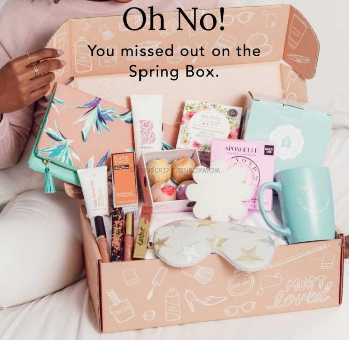 FabFitFun Spring 2018 Editor's Box Full Spoilers + $20 off Promo Code