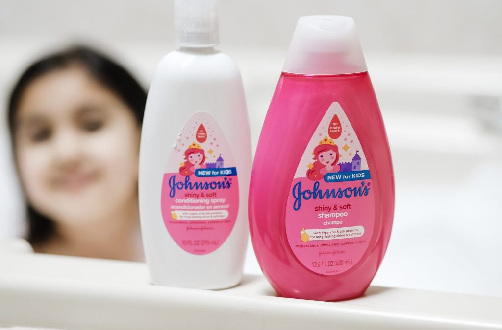 Tangles Be Gone With Johnson's® Kids' Haircare Collection!