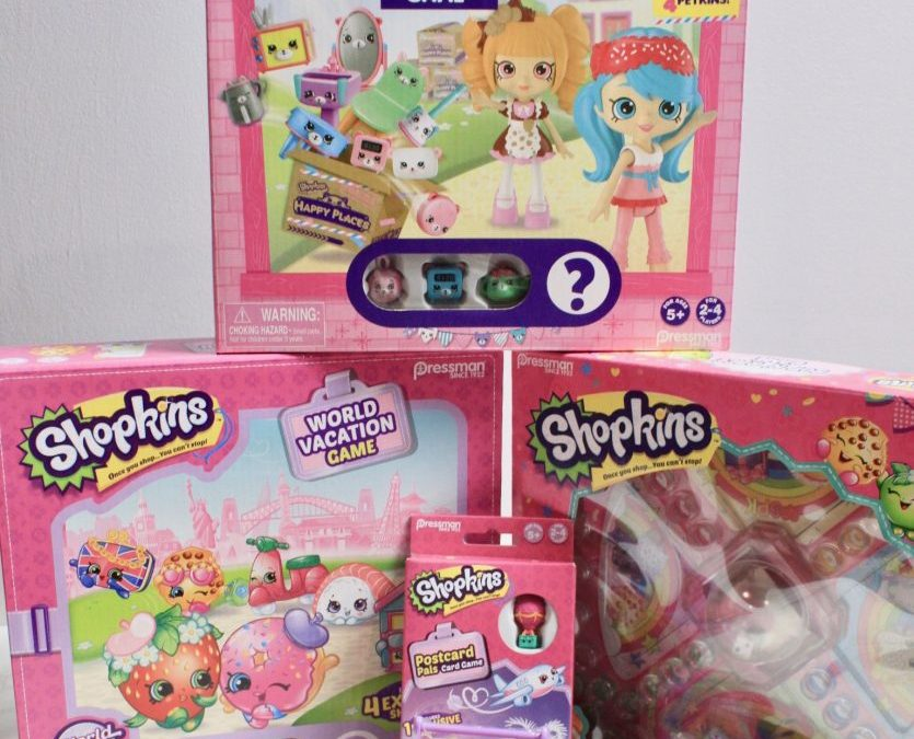 Shopkins Board Games by Pressman Toy Company – Review